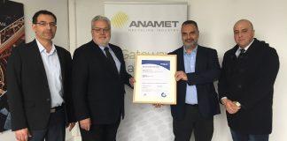 Πιστοποίηση TÜV HELLAS (TÜV NORD) της εταιρείας ΑΝΑΜΕΤ Α.Ε. για την οδική ασφάλεια