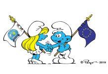Τα στρουμφάκια πρωταγωνιστούν στη νέα καμπάνια της ΕΕ για τον καθαρισμό των ακτών