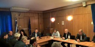 Συνάντηση Κόκκαλη με αμυγδαλοπαραγωγούς από Μαγνησία και Λάρισα, παρουσία της Διοίκησης του ΕΛΓΑ