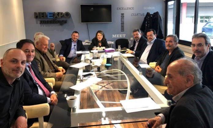Συνάντηση εκπροσώπων ΣΕΒΕ με Άτυπη Διεπαγγελματική Ομάδα Ακτινιδίου και Τελιγιορίδου