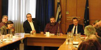 Σύσκεψη για την ανακύκλωση συσκευασιών φυτοπροστατευτικών προϊόντων στο ΥΠΑΑΤ