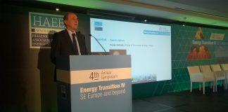 Για την ενεργειακή στρατηγική της χώρας, μίλησε ο Σταθάκης στο συμπόσιο της ΗΑΕΕ