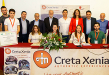 Μαθητές σχολείου στην Κρήτη, κερδίζουν χρήματα για το σχολείο τους μέσω «Εικονικής Επιχείρησης» που ίδρυσαν
