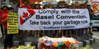 Οι Φιλιππίνες έστειλεαν πίσω στον Καναδά τόνους απορριμμάτων