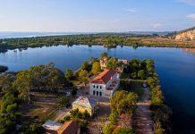 Προκηρύχθηκαν τα έργα ανάπλασης στη λίμνη Καϊάφα