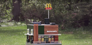 Το πρώτο McDonald's στον κόσμο μόνο για...μέλισσες