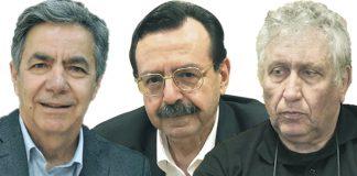 Συζήτηση εφ' όλης της ύλης είχαν ο Χ. Κασίμης με τον Χρ. Γιαννακάκη και τον Ν. Στουπή της Αγροτικής Καινοτομίας