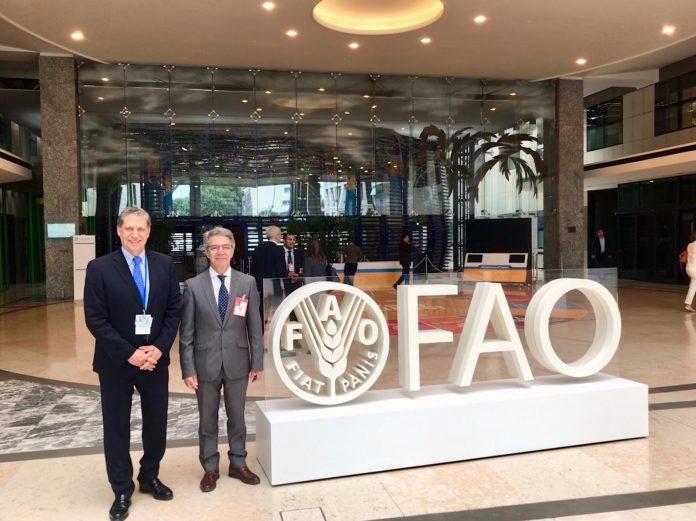 Συμμετοχή Κασίμη στη Γενική Συνέλευση του FAO