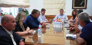 Συνάντηση για τις καταστροφές στις ντομάτες στην Κρήτη