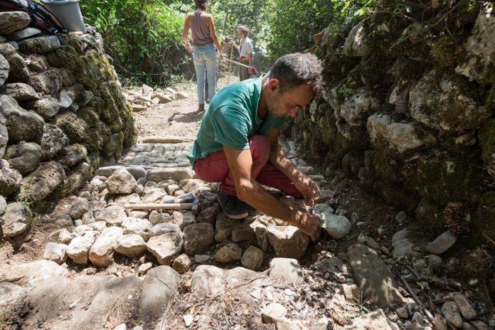 Ανακοίνωση μαθητείας νέων μαστόρων της πέτρας