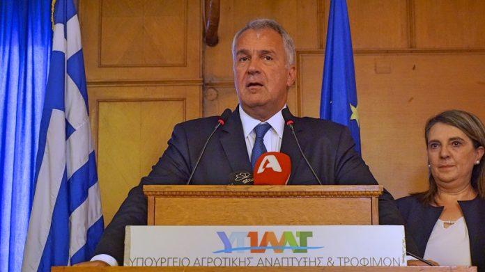 Ανέλαβε και επίσημα στο ΥπΑΑΤ ο Μάκης Βορίδης - KAΠ και μεγέθυνση της οικονομίας οι προτεραιότητες