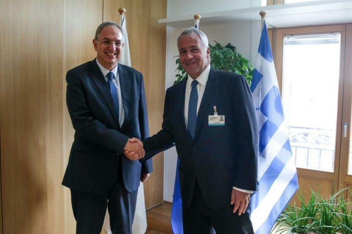 Άτυπη συνάντηση Βορίδη με τον Κύπριο ομόλογό του Κ. Καδή, στις Βρυξέλλες