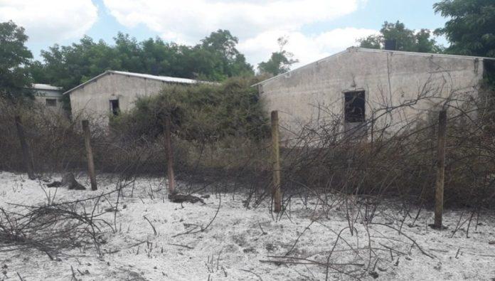 Φωτιά σε χορτολιβαδική έκταση κοντά σε χοιροστάσιο στις Φέρες