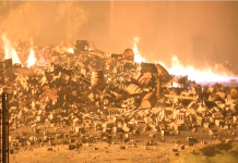 ΗΠΑ: 45.000 τόνοι μπέρμπον καταστράφηκαν σε πυρκαγιά
