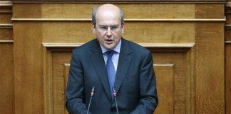 Κ. Χατζηδάκης: Μερική ιδιωτικοποίηση του ΔΕΔΔΗΕ για να σωθεί η ΔΕΗ