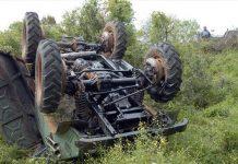 Μεσσηνία: Άνδρας ανασύρθηκε νεκρός μετά από ανατροπή τρακτέρ