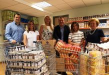 Παράδοση τροφίμων στο κοινωνικό παντοπωλείο Πυλαίας-Χορτιάτη από την ΑΓΣ