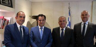 Συνάντηση 'Αδωνι Γεωργιάδη και Νίκου Παπαθανάση με την Διοίκηση του ΣΒΕ