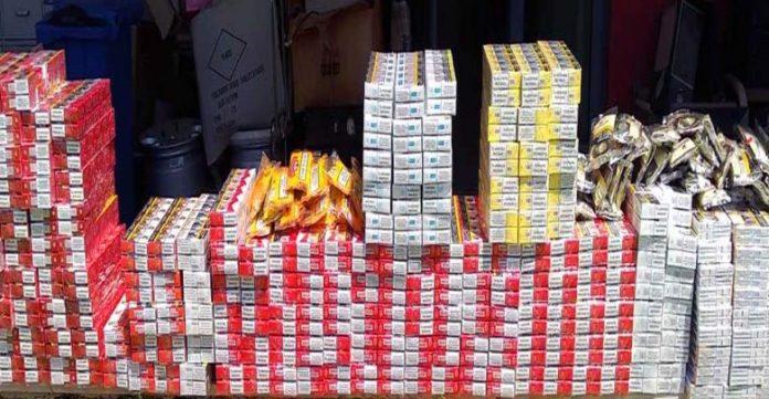 Ένας 65χρονος στη Λάρισα έκρυβε σε αποθήκη χιλιάδες λαθραία τσιγάρα