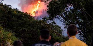Ανεξέλεγκτη μαίνεται η πυρκαγιά στα Γκραν Κανάρια της Ισπανίας- Απομακρύνθηκαν 8.000 άνθρωποι