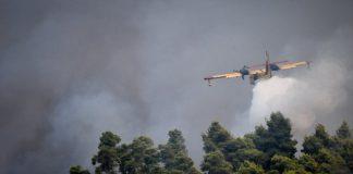 """Πυροσβεστικό αεροσκάφος """"βομβάρδισε"""" με τόνους νερού… έναν αγρότη"""