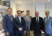 Συνάντηση υπουργού Ανάπτυξης με τον πρόεδρο του Συνδέσμου Εξαγωγέων Βόρειας Ελλάδας