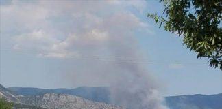 Αγροτοδασική πυρκαγιά στα Λεύκαρα Κοζάνης