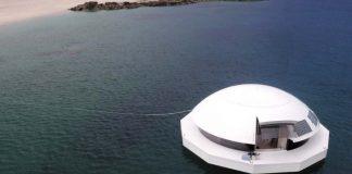 Anthenea, ένα πλωτό παλάτι με θέα τον βυθό της θάλασσας (φωτός)
