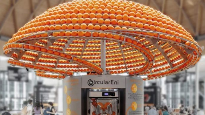 Βιοπλαστικά ποτήρια από φλούδες πορτοκαλιού