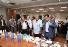 Επίσκεψη Άδωνι Γεωργιάδη στις εγκαταστάσεις τις ΜΕΒΓΑΛ