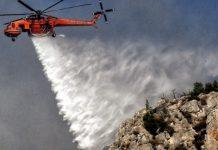 Καλύτερη η εικόνα στη Ζάκυνθο σε ύφεση η πυρκαγιά στο Λουτράκι