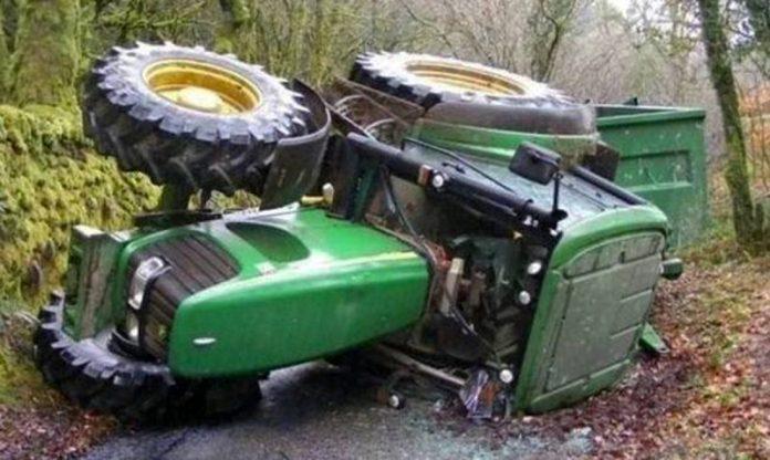 Και τέταρτος νεκρός από ανατροπή γεωργικού ελκυστήρα τις τελευταίες μέρες
