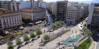 Να είναι η πλατεία Ομονοίας έτοιμη μέχρι τέλη Οκτωβρίου, ζήτησε ο Κώστας Μπακογιάννης