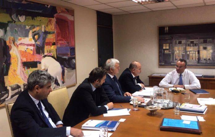 Συνάντηση ΓΣΕΒΕΕ με τον Χρήστο Σταϊκούρα - Τα αιτήματα που τέθηκαν