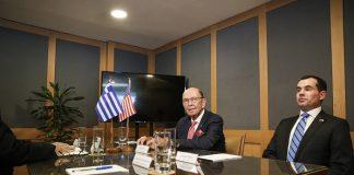 Συνάντηση του Υπουργού Ψηφιακής Διακυβέρνησης με τον Υπουργό Εμπορίου των ΗΠΑ
