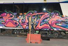 Θεσσαλονίκη: Βανδαλισμός βαγονιών Μετρό που βρίσκονται στο αμαξοστάσιο της Πυλαίας