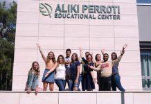 Αμερικανοί φοιτητές στο Perrotis College μέσω του προγράμματος Study Abroad