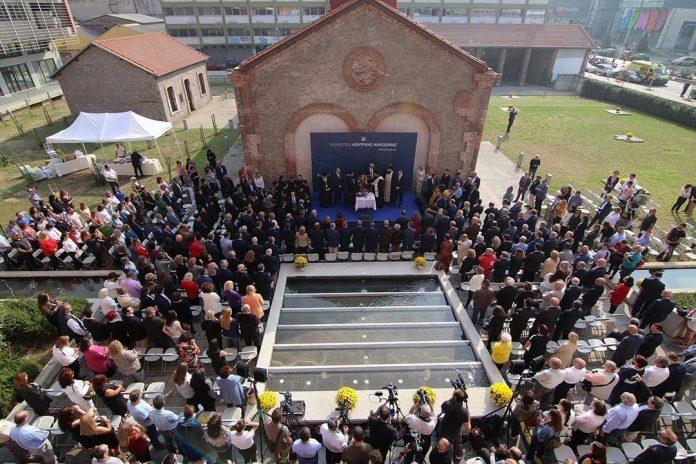 Εγκαίνια για το νέο κτήριο υπηρεσιών της Περιφέρειας Κεντρικής Μακεδονίας