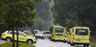 Ένοπλος στη Νορβηγία έκλεψε ασθενοφόρο και έπεσε μ' αυτό πάνω σε περαστικούς