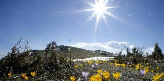 Κάτω από το μηδέν έπεσε το θερμόμετρο σήμερα σε ορεινές περιοχές της χώρας
