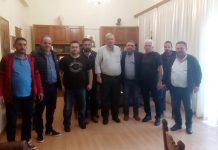 Συνάντηση Καχριμάνη με Ομοσπονδία κτηνοτροφικών συλλόγων Θεσσαλίας