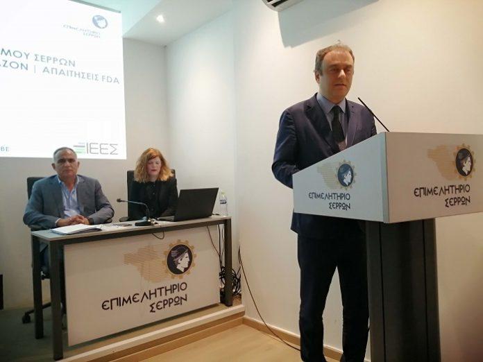 Συνεργασία του ΣΕΒΕ με το επιμελητήριο Σερρών για την ενίσχυση των εξαγωγών του νόμου