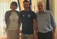 Υποδοχή του Χρυσού Παραολυμπιονίκη Δημοσθένη Μιχαλεντζάκη από τη Διοίκηση του Δημοκρίτειου