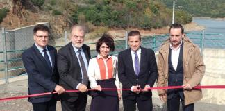 Εγκαίνια έργου βελτίωσης του υδροταμιευτήρα Αλεξανδρούπολης