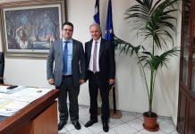 Ενημέρωση του Γραμματέα του ΥΠΑΑΤ για τη σφήκα της καστανιάς στο Δήμο Τεμπών