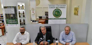 Επίσκεψη Μ. Βορίδη σε Συνεταιρισμούς και ελαιοτριβείο της Μεσσηνίας