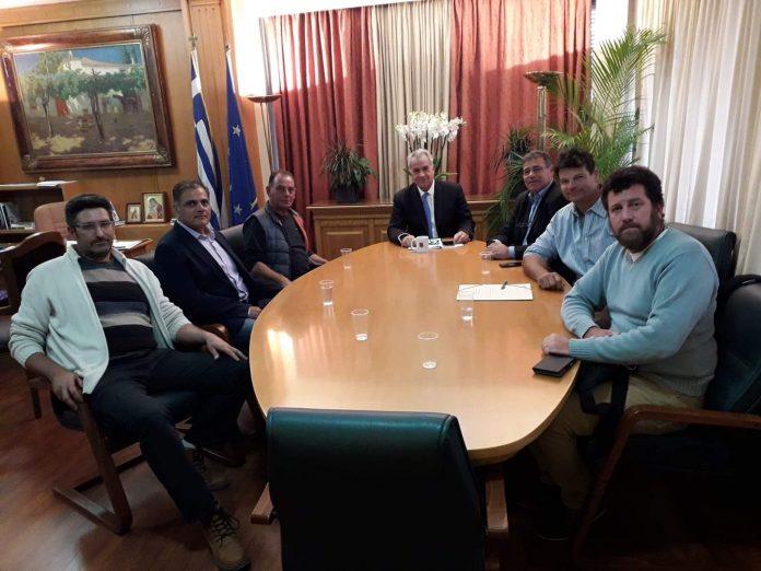 Σε καλό κλίμα η συνάντηση των παράκτιων αλιέων με τον υπουργό Αγροτικής Ανάπτυξης