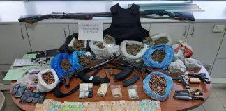 Κρήτη: Ναρκωτικά και όπλα στην κατοχή οικογένειας κτηνοτρόφων