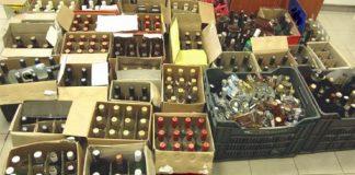 Κύκλωμα παραγωγής και διακίνησης νοθευμένων ποτών εντόπισε η ΑΑΔΕ