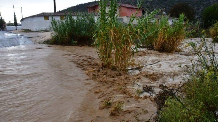 Έντονα πλημμυρικά φαινόμενα έπληξαν αγροτικές περιοχές στους Δήμους Καβάλας και Παγγαίου